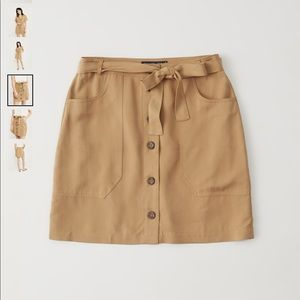 Abercrombie & Fitch Button-up Utility Skirt